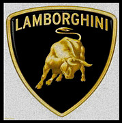 Expensive Prints -  Lamborghini Print by Cheryl Young