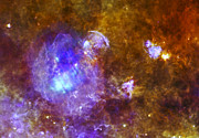 Jpl Prints -  Life and Death in a Star-Forming Cloud Print by Adam Romanowicz