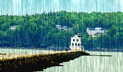 Will Burlingham -  Light House Maine