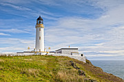 Galloway Prints -  Lighthouse at Mull of Galloway Scotland Print by Colin and Linda McKie