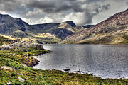 Wales Digital Art -  Llyn Ogwen - North Wales by George Standen