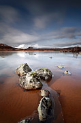 Mountain Scene Photo Prints -  Lochan na h-Achlaise Print by Grant Glendinning