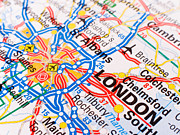 Maps Photos -  London by Lusoimages