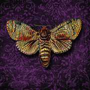 Cut Mixed Media Posters -  Love for Butterflies Poster by Ramneek Narang