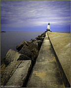 Sand Photos -  Ludington  Light House Michigan by LeeAnn McLaneGoetz McLaneGoetzStudioLLCcom