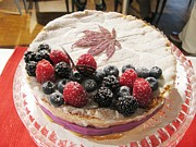 Alfred Ng -  Maple and Berries cake