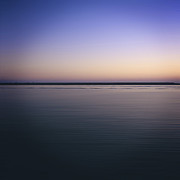 Afterglow Photos -  Mediterranean sea. Provence. France by Bernard Jaubert