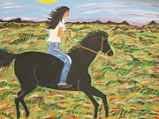 Jeffrey Koss -  Morning Bareback Ride