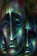 Facial Expression Posters -  Nameless  Poster by Michael Lang