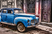Car Repairs Photo Prints -  Needs More Work Print by Sandy Dimke
