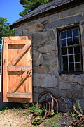 Sturbridge Village Posters -  New Door - Sturbridge Poster by Jacqueline M Lewis