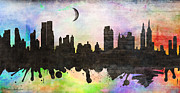 Cityscape Digital Art -  New York 6 by Mark Ashkenazi