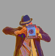 Fielding Prints -  Paparazzi Print by Edward Fielding