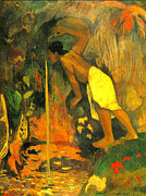 Famous Artists - Pape moe by Paul Gauguin