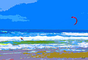 Para Surfing Prints -  Para-Surfer 2p Print by CHAZ Daugherty