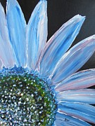 Livingstone Posters -  Pastel -Sunflower Poster by Beverly Livingstone