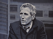 Paul Meijering Framed Prints -  Paul Newman Framed Print by Paul Meijering