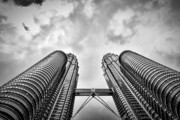 Gebaeude Prints -  Petronas Tower Print by Joerg Lingnau