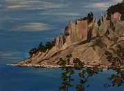 Judy Via-Wolff -  ptg. Chimney Bluffs