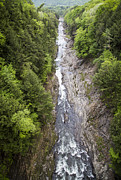Canyon Photos -  Quechee Gorge Quechee Vermont by Edward Fielding