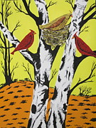 Jeffrey Koss -   Red Cardinals Nest