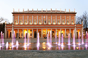 Outdoor Theater Prints -  Reggio Emilia - Municipal Theater Print by Eddy Galeotti