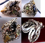 Fantasy Jewelry Originals -  ring BIZANTIUM by Mikhail Savchenko