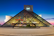 Cleveland Framed Prints -  Rock and Roll Hall of Fame and Museum Framed Print by Emmanuel Panagiotakis