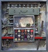 Old Objects Mixed Media Framed Prints -  Room of an Old Soldier Framed Print by Sergey Meytuv
