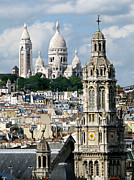 Sacre Coeur Art -  Sacre Coeur Basilica .France by Jennie Breeze
