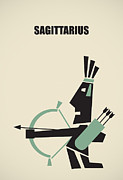 Astrological Art Posters -  Sagittarius Poster by Igor Kislev
