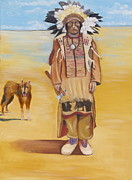 Don Nemer -  Sioux and his dog