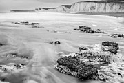 Chalk Cliffs Art -  South Downs in East Sussex by Semmick Photo