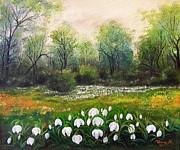 Spring  Print by Vesna Martinjak