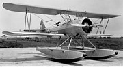 Stearman Prints -   Stearman 76 on EDOs - armed Print by Hank  Clark