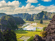 Binh Prints -  Tam coc national park Print by MotHaiBaPhoto Prints