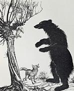 Arthur Rackham -  The Bear and the Fox