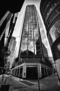 Natalie Kinnear Acrylic Prints -  The Exchange Tower - London - England Acrylic Print by Natalie Kinnear