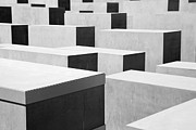 Berlin Art Photos -  The Holocaust Memorial by Michal Bednarek