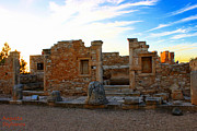 Abstract Sights Photo Prints -  The Palaestra - Kourion-Apollon Print by Augusta Stylianou