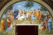 Famous Artists - The Parnassus by Raphael