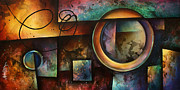 Geometric Shapes Posters -  The RIFT  Poster by Michael Lang