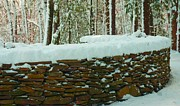 Flagstones Prints -  The Snow Fort Print by Bruce Carpenter