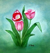 Tammy McClung -  Three Tulips