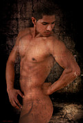 Nude Male Prints -  To Giving More Print by Mark Ashkenazi