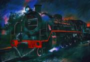 Train Print by Andrzej Szczerski