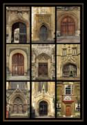 Uk Doors Print by Christo Christov