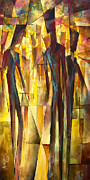 Interaction Paintings -  Untitled  by Michael Lang