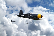 Role Prints -  Vought Corsair - Strike Mission Print by Pat Speirs