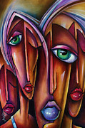 Emotions Prints -  Wanderers  Print by Michael Lang